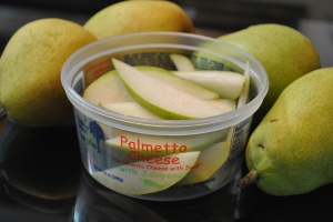 Palmetto Cheese Container for snacks