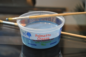 Palmetto Cheese Container for painting