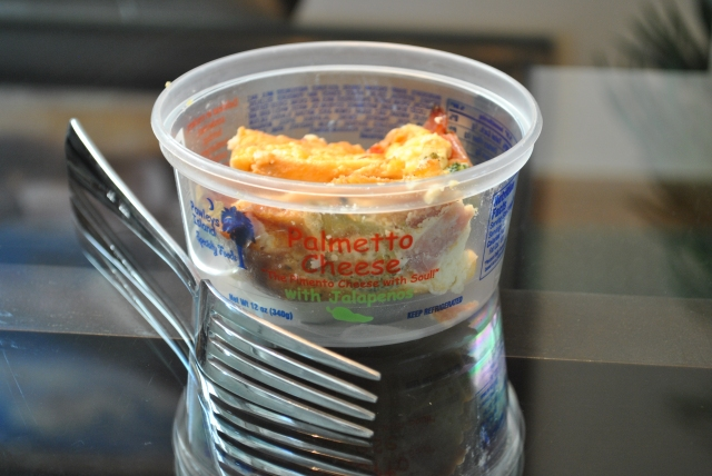Palmetto Cheese Container for leftovers