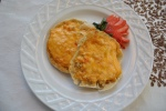 English Muffin with pimento cheese