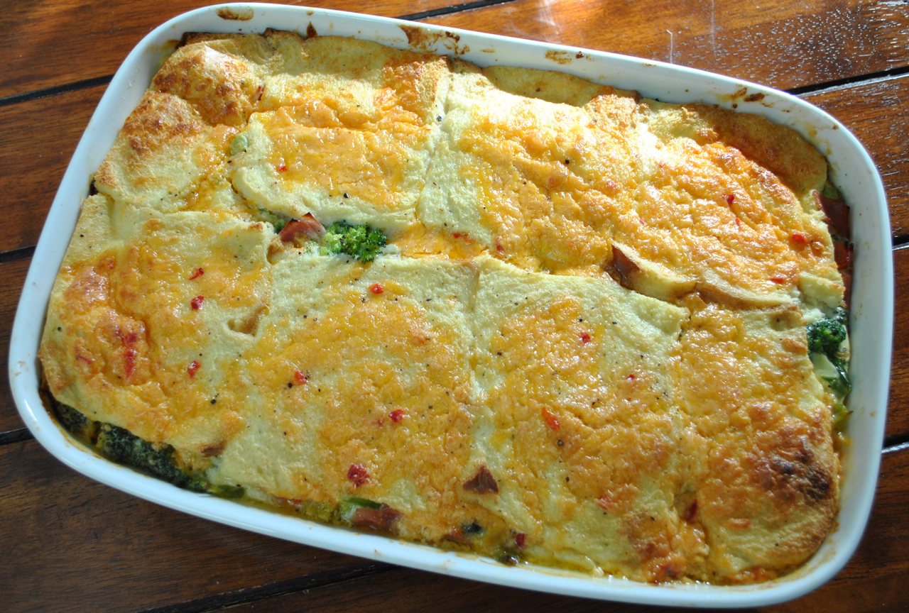 Pimento Cheese and Broccoli Casserole