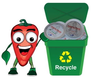 Recycle Palmetto Cheese containers